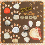 Pretty Paws Scrapbook Layout
