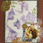 You & Me…& Qi Scrapbook Layout
