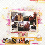 Antalya – You & Me Scrapbook Layout