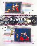 3 Fates ARTastic DT Scrapbook Layout