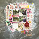 Hyde Park ARTastic DT Scrapbook Layout
